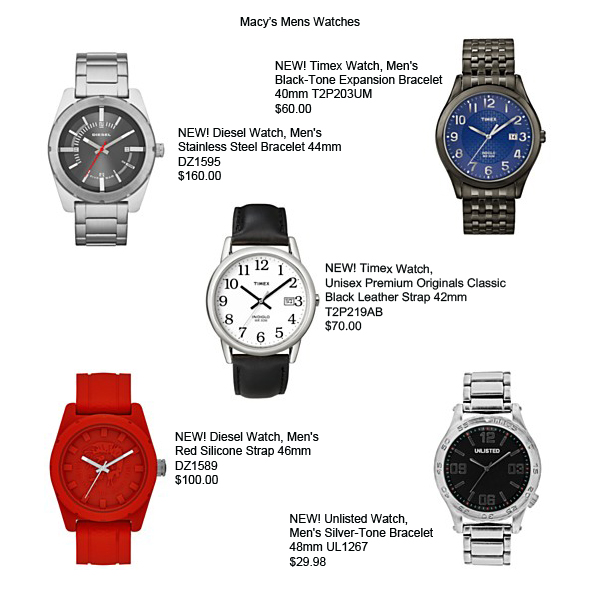 boyfriend watch mens