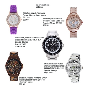 boyfriend watch women macys