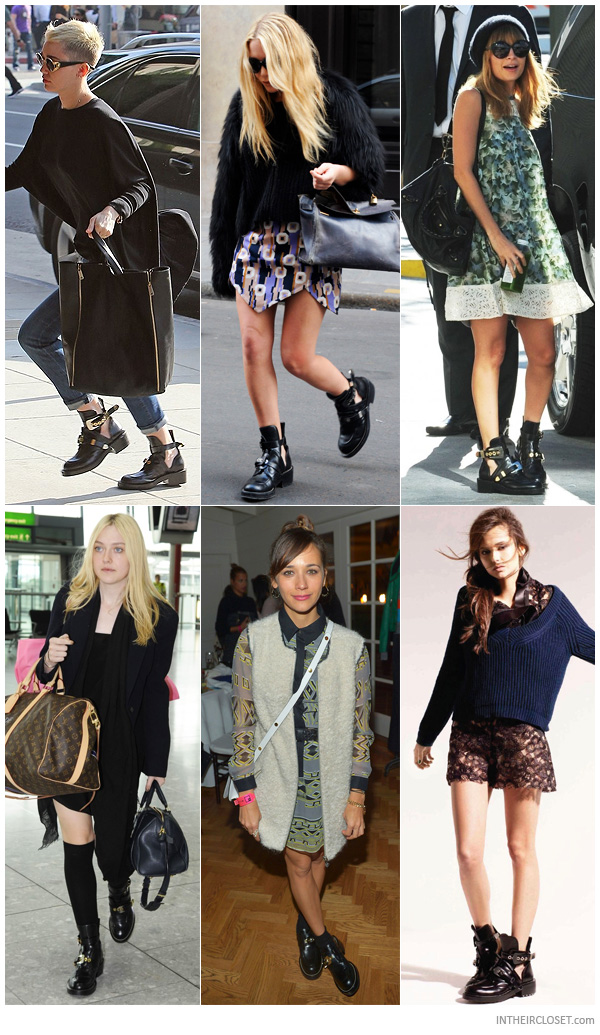 celebrities-balenciaga-cutout-buckled-booties
